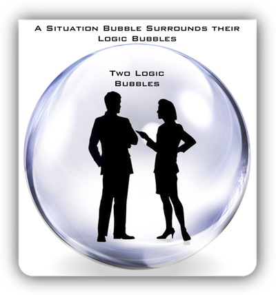 situation and logic bubbles