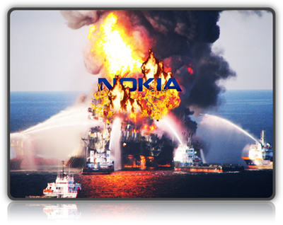 nokia the platform is burning