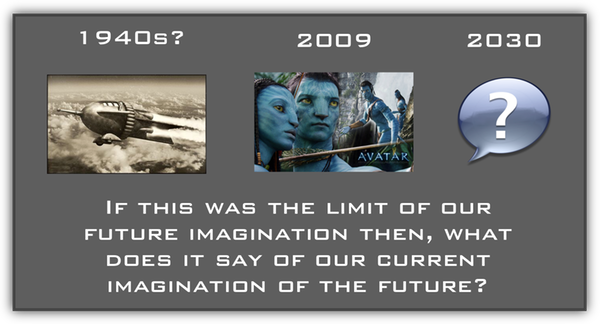 buck rodges to avatar to 2030